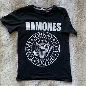 Boys 12/14❤️RAMONES T-Shirt from H&M